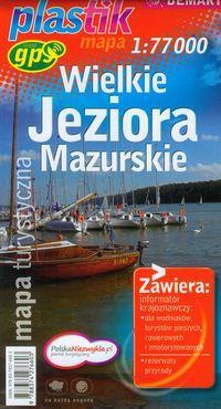 Wielkie Jeziora Mazurskie. mapa turystyczna 1:77 0