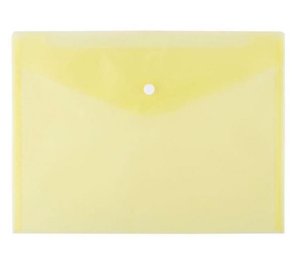 Teczka kopertowa A4 żółta D.RECT-372505