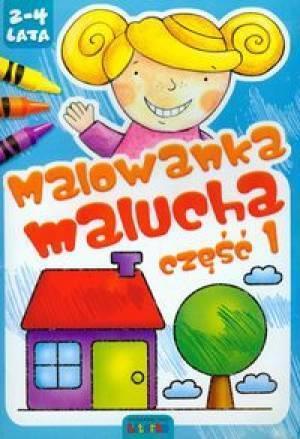 Malowanka malucha część 1 LITERKA-323553