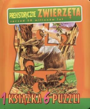 Jedna Książka Sześć Puzzli - Prehist. Zwierzęta