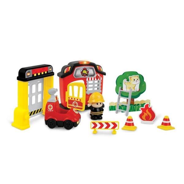 Kraina zabawy remiza strażacka