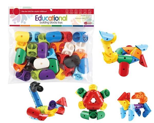 Klocki - puzzle 28 elementów
