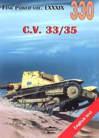 C.V. 33/35. Tank Power vol. LXXXIX 330