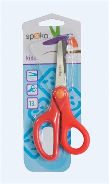 Nożyczki S0533 szkolne kolorowe 13cm SPOKO