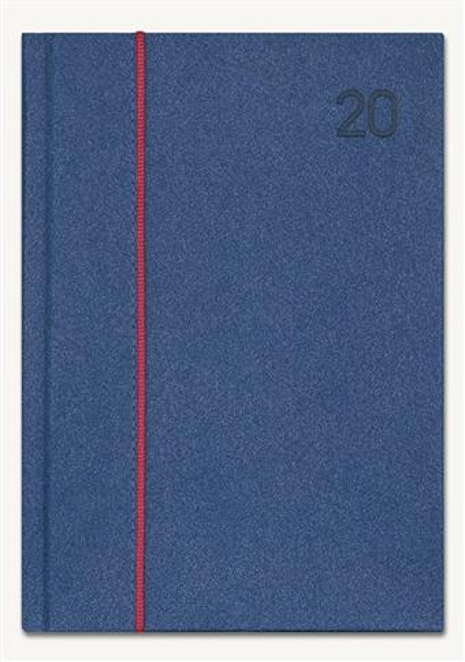 Kalendarz 2020 Książkowy A5 Note granat melange