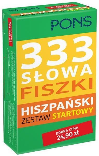 333 Słowa Fiszki. Hiszpański Zestaw startowy PONS