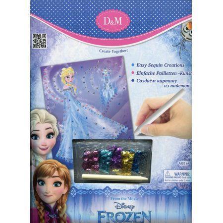Kraina lodu obrazek II Elsa cekiny Stnux OUTLET