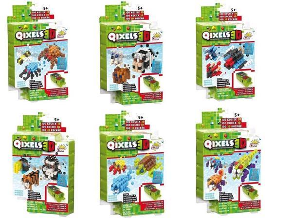 Qixels. Tematyczny zestaw uzupełniający 3D s.3 mix