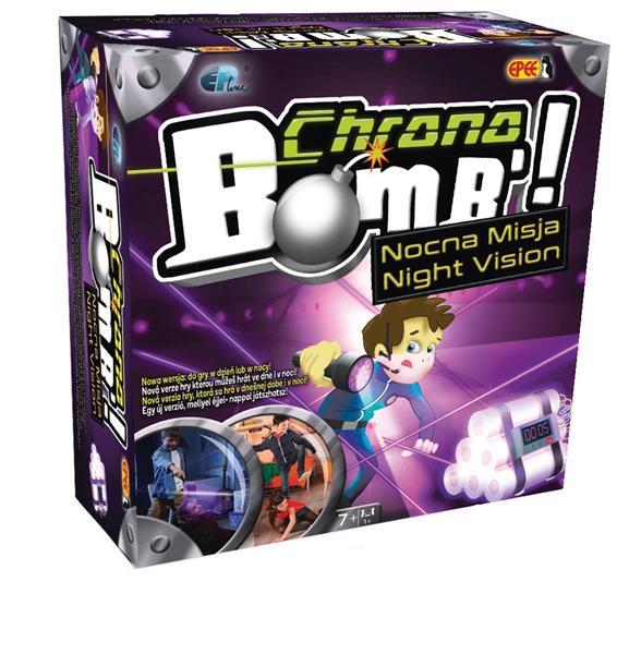 Chrono Bomb Nocna Misja - Wyścig z czasem