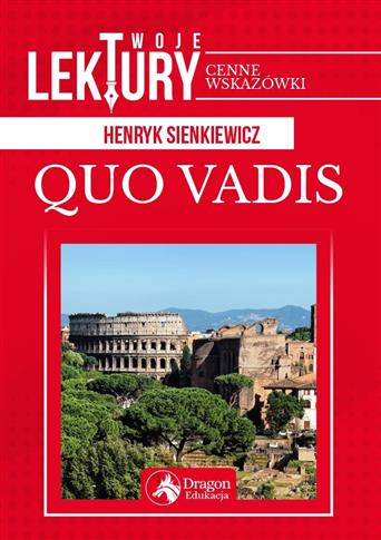 QUO VADIS TWOJE LEKTURY BR OUTLET