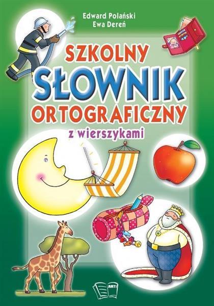 Szkolny słownik ortograficzny z wierszykami outlet