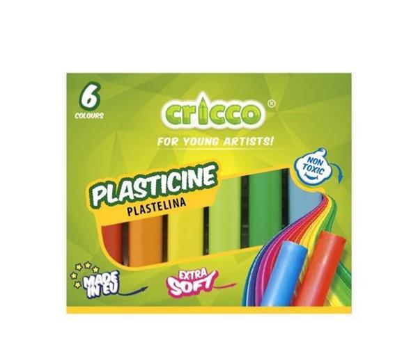 Plastelina 6 kolorów CRICCO