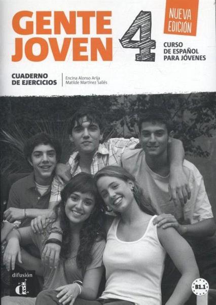 Gente Joven 4 Nueva Edicion ćwiczenia LEKTORKLETT