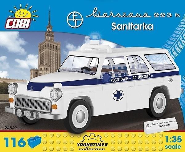 Cars Warszawa 223 K Sanitarka 116 klocków