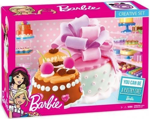 Masa plastyczna tort urodzinowy Barbie RP
