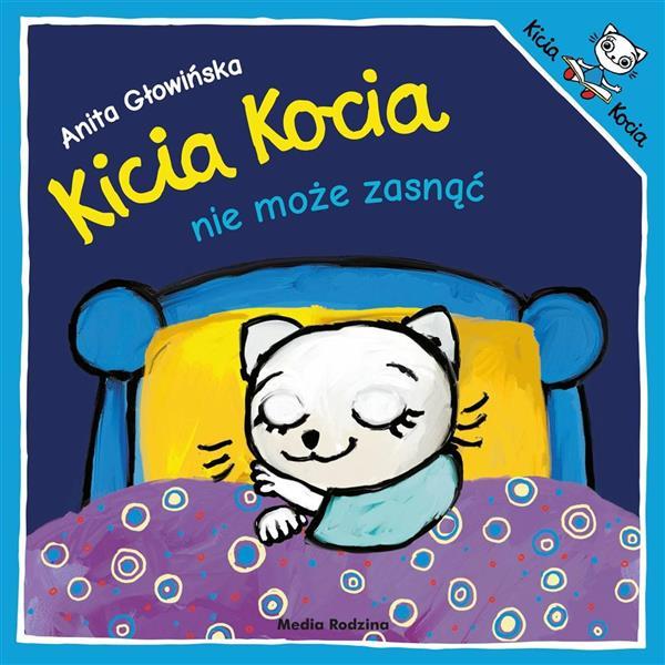 Kicia Kocia nie może zasnąć w.2019