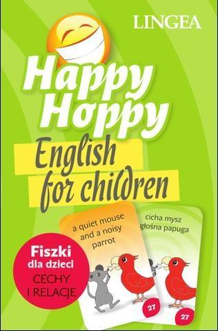 HAPPY HOPPY ENGLISH FOR CHILDREN FISZKI DLA