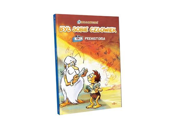 Był sobie człowiek komiks cz.1 Prehistoria+DVD