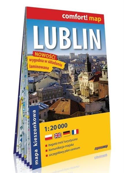 Comfort! map Lublin 1:20 000 mapa MINI