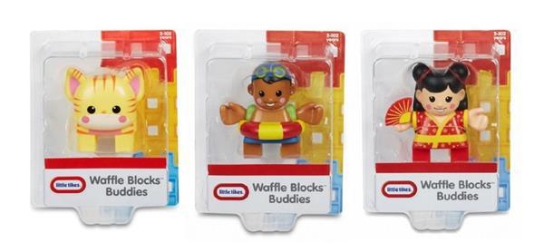 Waffle Blocks Figurki display (4szt)