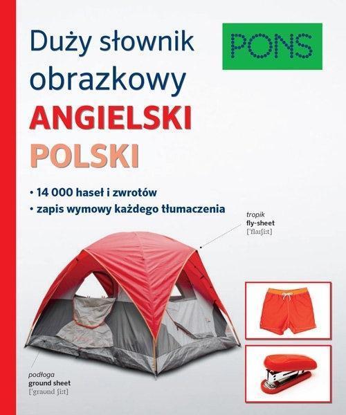 Duży słownik obrazkowy ang-pol PONS