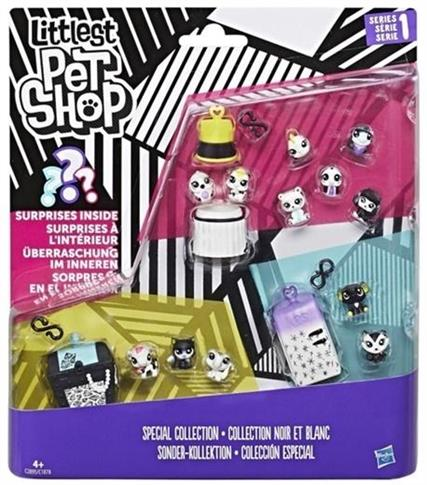 Littlest Pet Shop Black&White zestaw 2