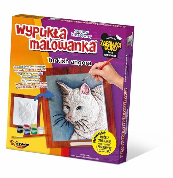 Wypukła Malowanka - Kot Turecki Angora