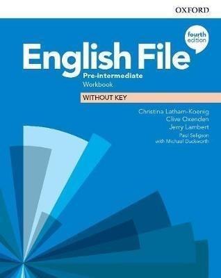 English File 4E Pre-Intermediate WB without key