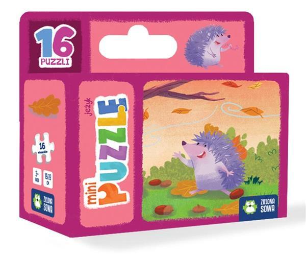 Mini Puzzle. Jeżyk