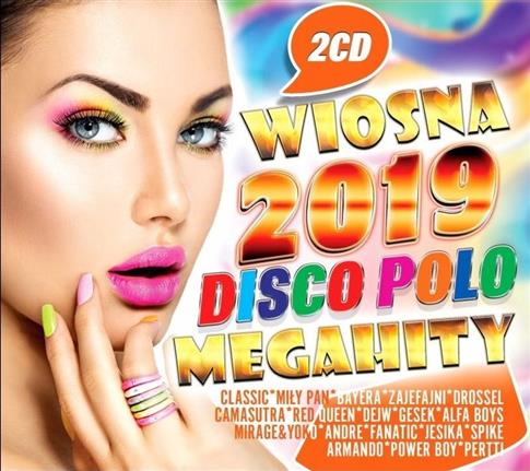 Wiosna 2019. Disco Polo. Megahity (2CD)