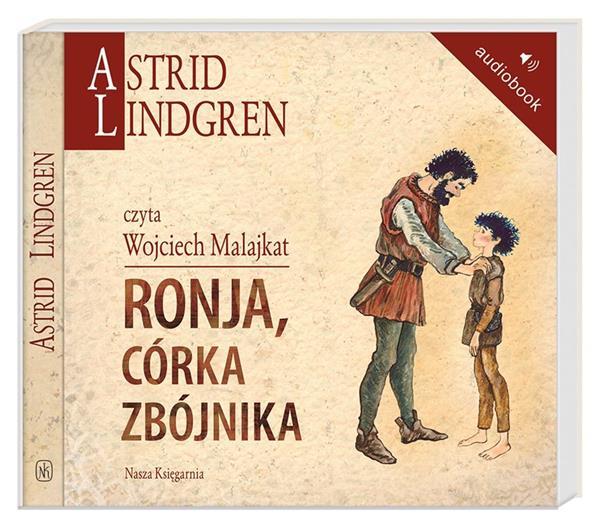 Astrid Lindgren. Ronja, córka zbójnika audiobook