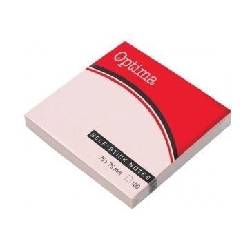 Karteczki Samoprzylepne pastel róż Optima 100