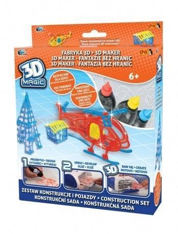 3D Magic - Fabryka 3D - Konstrukcje i pojazdy