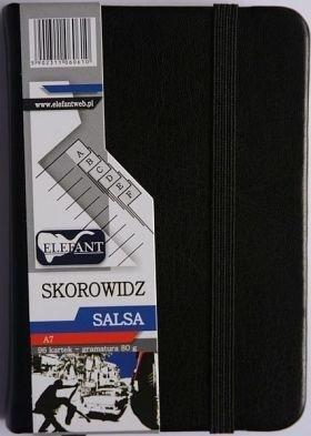 Skorowidz A7/96 Salsa czarny ELEFANT
