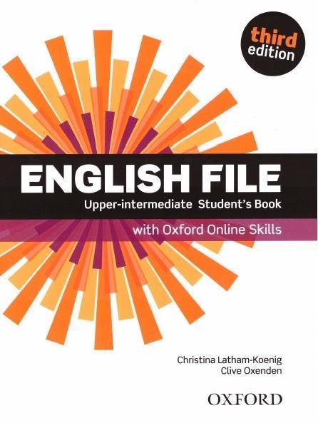 English File 3E Upper-Interm SB + online skills
