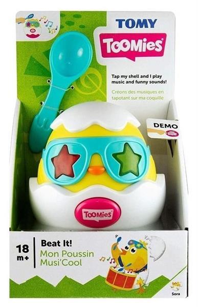 Beat it Grające jajko TOMY