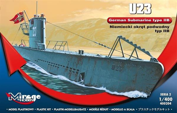 Okręt Podwodny U-23 typ IIB Niemiecki