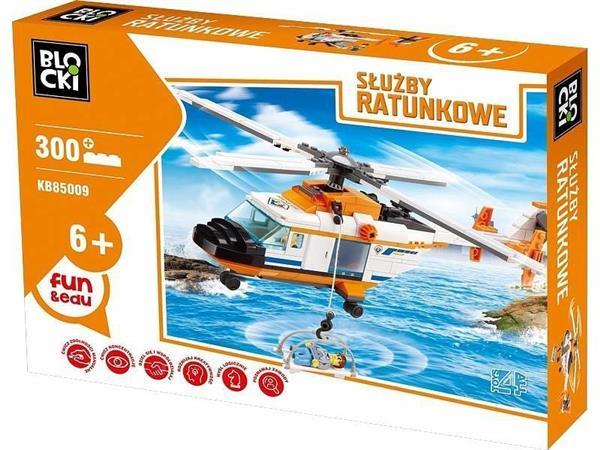 Klocki Blocki Służby ratunkowe Helikopter