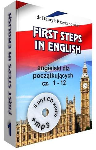 First steps in English cz.1 (1-12) w.2017