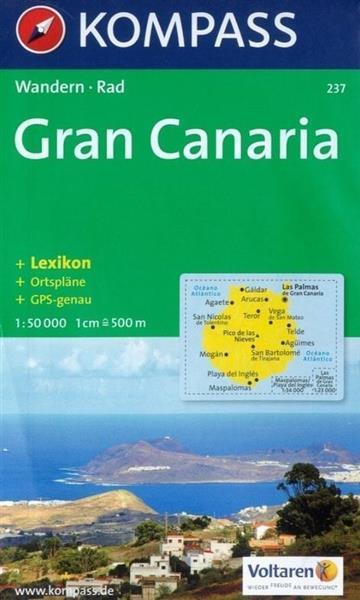 Gran Canaria 1:50 000 Kompass