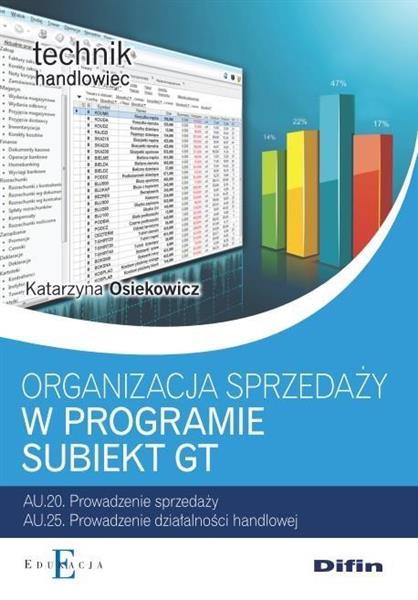 Org.sprzedaży z wykorzystaniem programu Subiekt GT