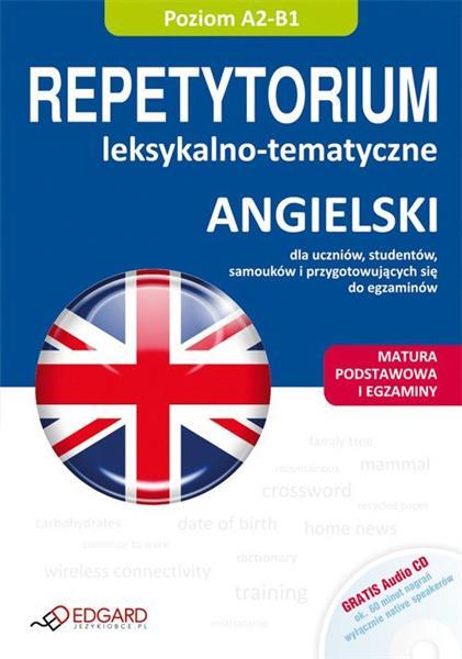 Angielski. Repetytorium leksykalno-tematyczne + CD