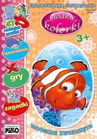 Słodkie kolorki. Morskie zwierzęta