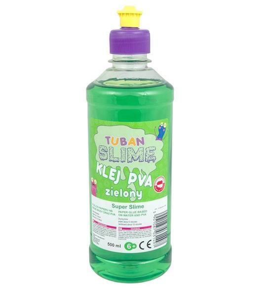 Klej zielony PVA 500ml TUBAN