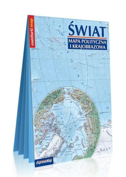 Comfort! map Świat XXL mapa pol. i krajobrazowa