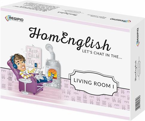 HomEnglish Let's chat in the Living Room REGIPIO