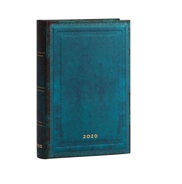 Kalendarz książkowy mini 2020 12M Calypso Bold