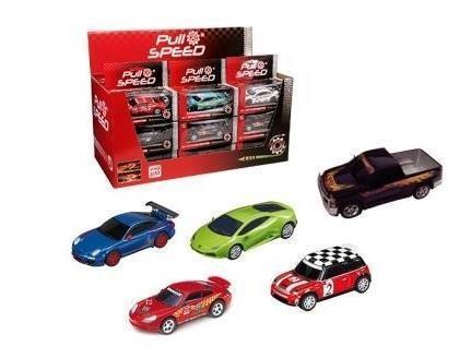 Carrera Pull&Speed Mixed Cars, różne rodzaje