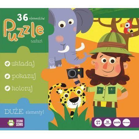 Puzzle. Safari NOWY