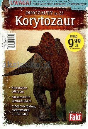 DINOZAURY T23 KORYTOZAUR. KSIĄŻKA + FIGURKA